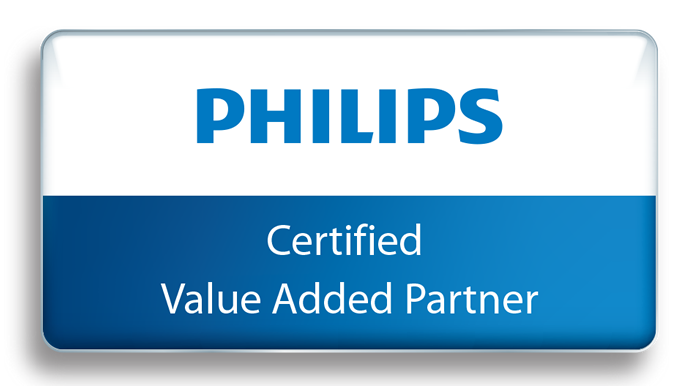 Philips-pictogram voor Certified Value Added Partners