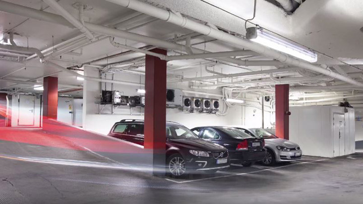 Pacific LED Green Parking-systeem