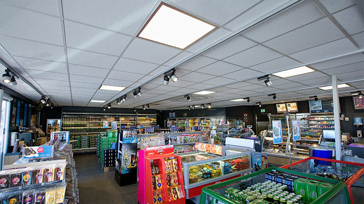 Get energy smart - led canopy lights for gas station