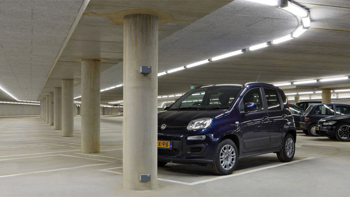 Pacific LED GreenParking-armatuur – LED-verlichting voor parkeergarages