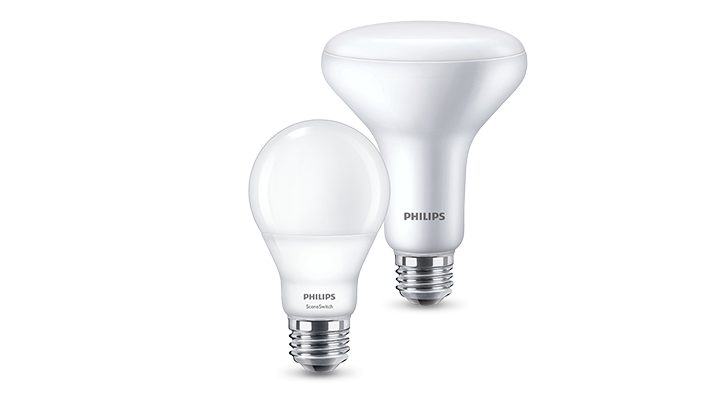 Productassortiment Philips SceneSwitch LED-lampen